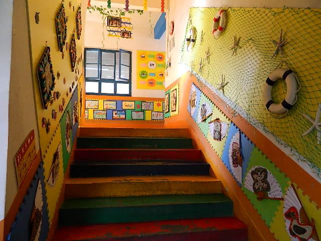 幼儿园的环境布置图片